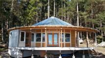 Stuart Island Yurt House